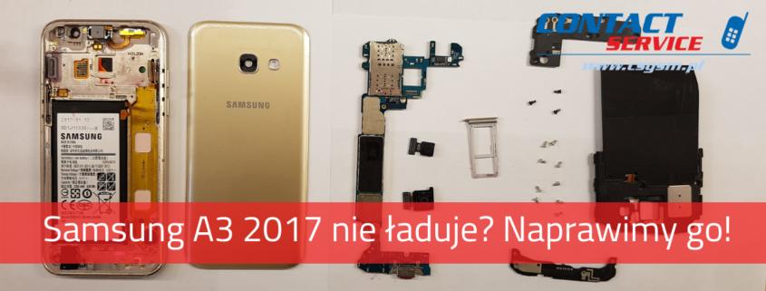 Samsung A3 2017 nie ładuje. Naprawimy go w Gdańsku!