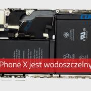 Wodoszczelny iPhone X - czy napewno?