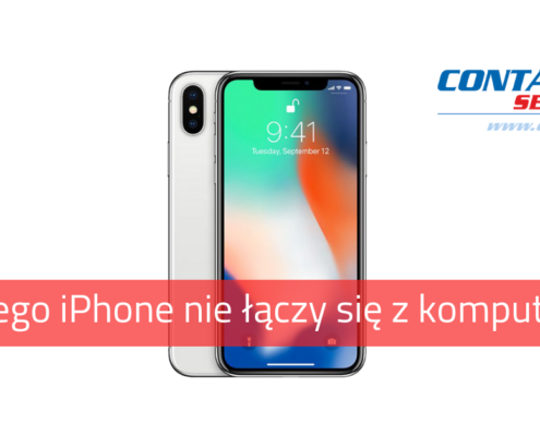 Dlaczego iphone nie chce siępołączyć z komputerem