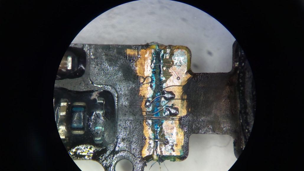 Nie działa przycisk home - naprawiona taśma