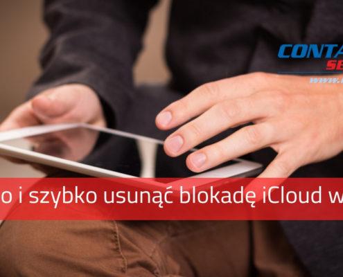 Jak usunąćblokadęiCloud