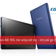 Tablet Lenovo A8-50L nie włącza się